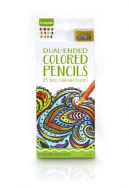 Crayola - Adult Colouring - 12 Dual-Ended Colored Pencils